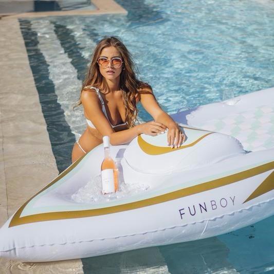 Funboy Rosé Pool Float