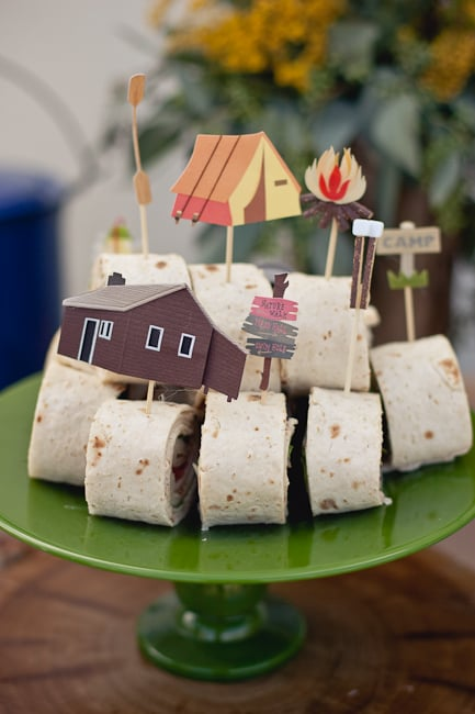 Take Your Baby Shower To The Great Outdoors With A Rustic, Camping Themed  Party