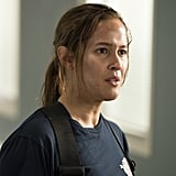 Jaina Lee Ortiz will be one of the leads on the show, playing tough firefighter Andy Herrera. Medium star Miguel Sandoval will play her father, who also happens to be the captain of Station 19.