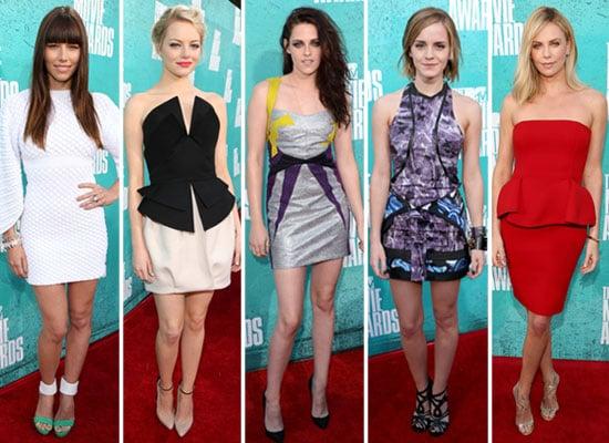 Red Carpet Short Dresses