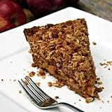 Vegan Apple Coconut Crumble Pie