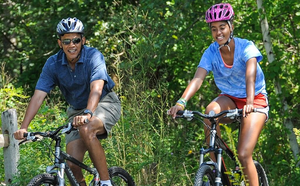 Off-Duty Obamas