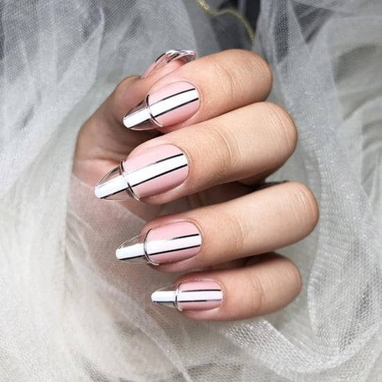 Floating French Tip Manicure Trend | Autumn 2019 Nail Trends