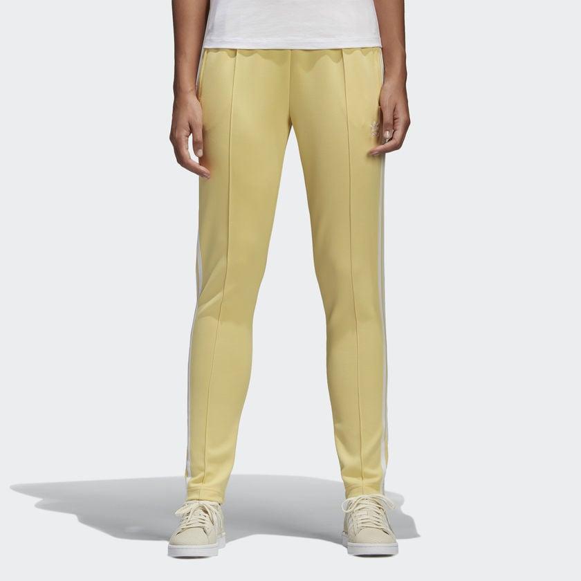 adidas adicolor yellow sst track pants
