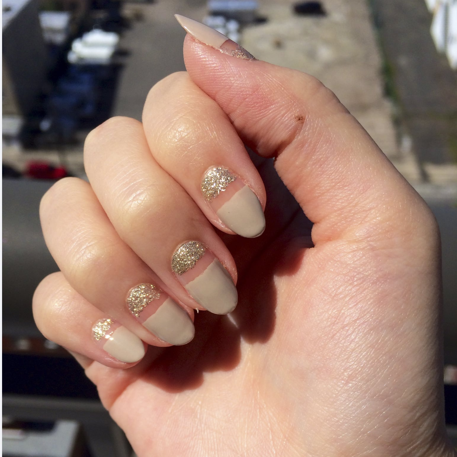 Sparkly Nail Art Design | POPSUGAR Beauty
