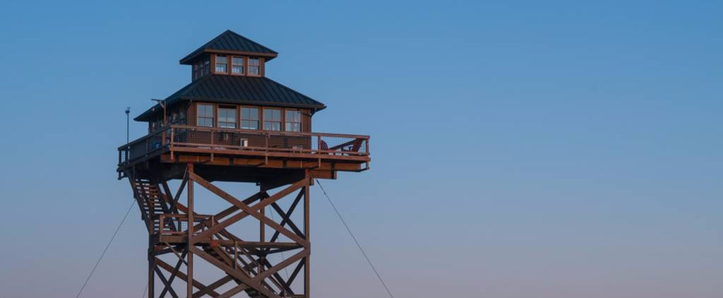 For Just $175 a Night, You Can Stay 40 Feet Off the Ground in This Epic Tower