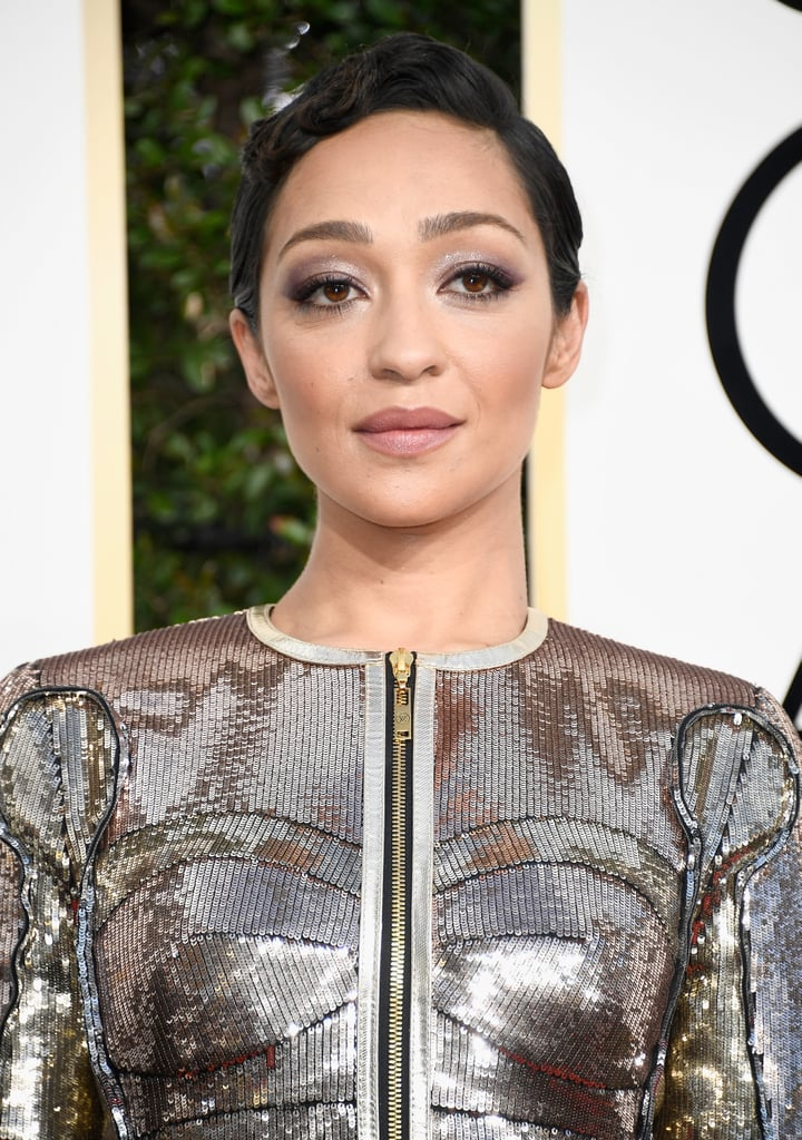 Ruth Negga at the Golden Globes