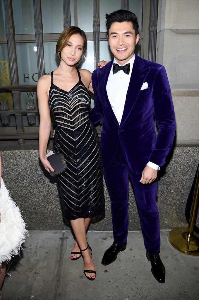 Henry Golding and His Wife, Liv Lo, at the Ralph Lauren New York Fashion Week Show