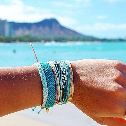 Pura Vida Handmade Bracelet With Coated Charm