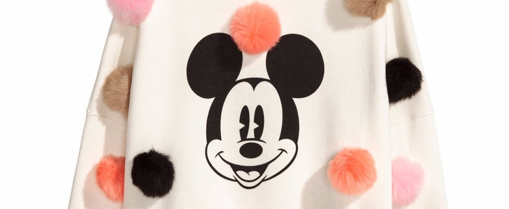 This Mickey Mouse Sweatshirt From H&M Has Pom-Poms All Over It!