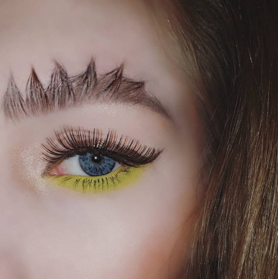 Dragon Eyebrow Trend Instagram