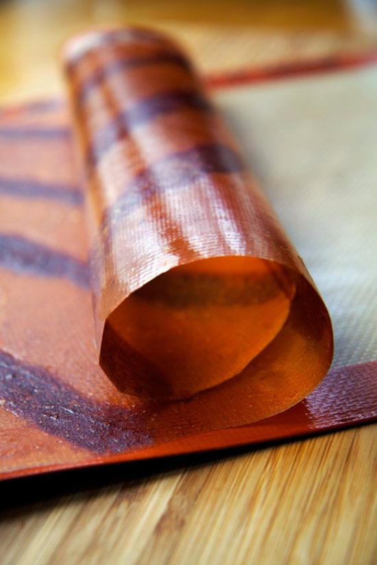 DIY Apple Fruit Leather