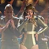 "Karol G Performing ""Casi Nada"""