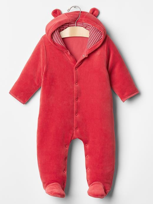 Gap Velour Bear One-Piece