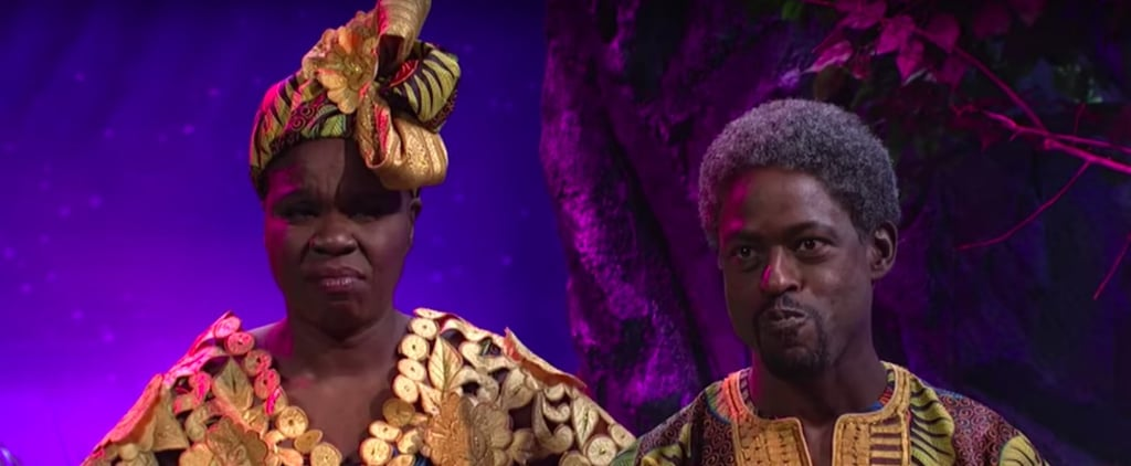 Even Sterling K. Brown Couldn't Keep It Together During This Hilarious Black Panther Skit