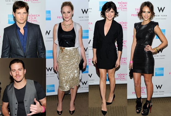 Pictures of Jessica Alba, Peter Facinelli, Channing Tatum and More at Tribeca Film Festival Award Show 2010-04-30 06:00:00