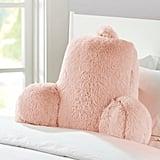Mainstays Long Hair Faux Fur Backrest Pillow