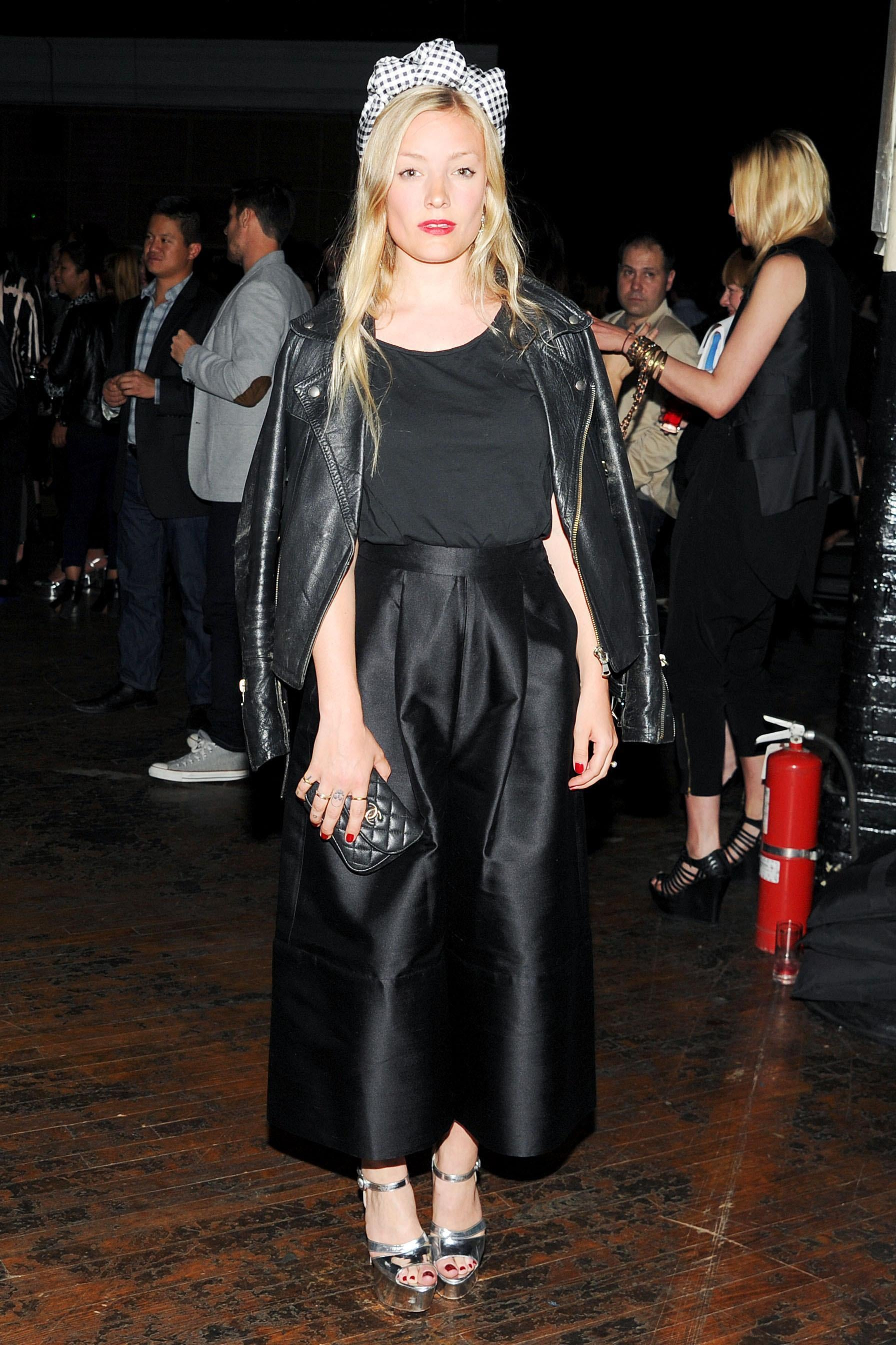 Kate Foley at the JW Anderson for Versus launch party. Source: Billy Farrell/BFAnyc.com
