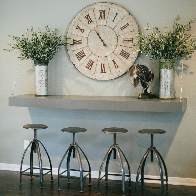 Joanna Gaines Home Decor Inspiration: Vintage Stools Are A Practical Design Element