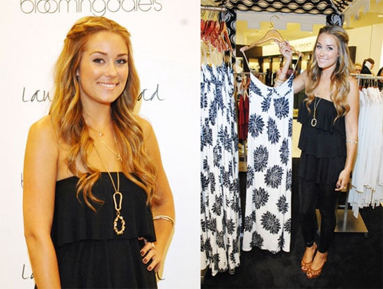 Photos of Lauren Conrad Showing Her Fall 2008 Collection at Bloomingdale's