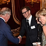 Prince Charles, Colin Firth and Emma Thompson