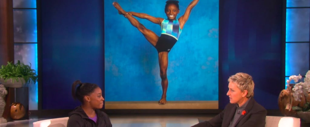 The Next Time You're Feeling Lazy, Remember That Simone Biles Trains 32 Hours Every Week