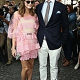 We're still swooning over Olivia Palermo's (and Johannes Huebl's) appearance at the Valentino show in Paris.