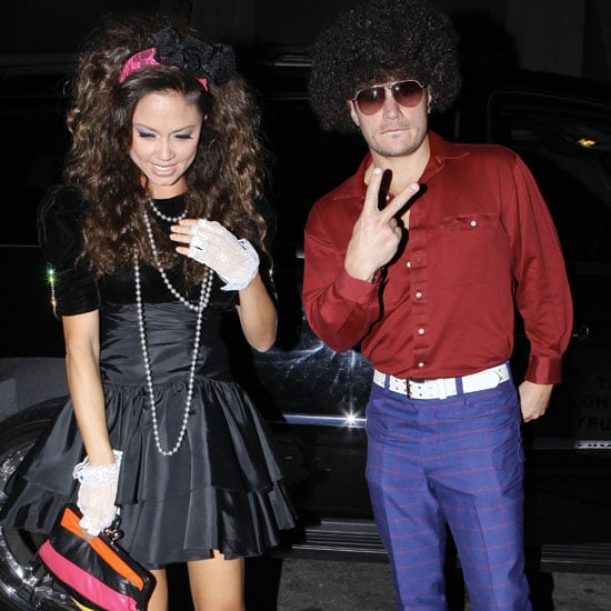 Pictures of Nick Lachey and Vanessa Minnillo in Costume