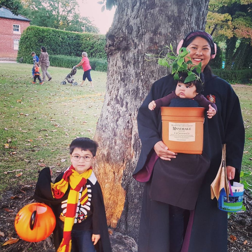 Mandrake And Harry Potter 37 Adorable Halloween Costumes For