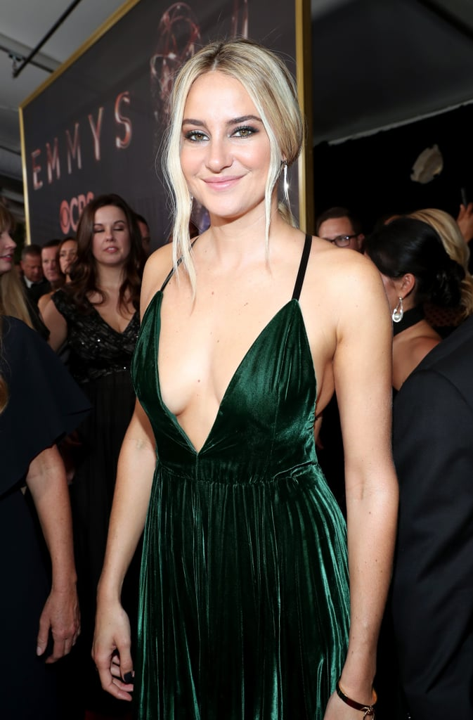 Shailene Woodley at the Emmy Awards