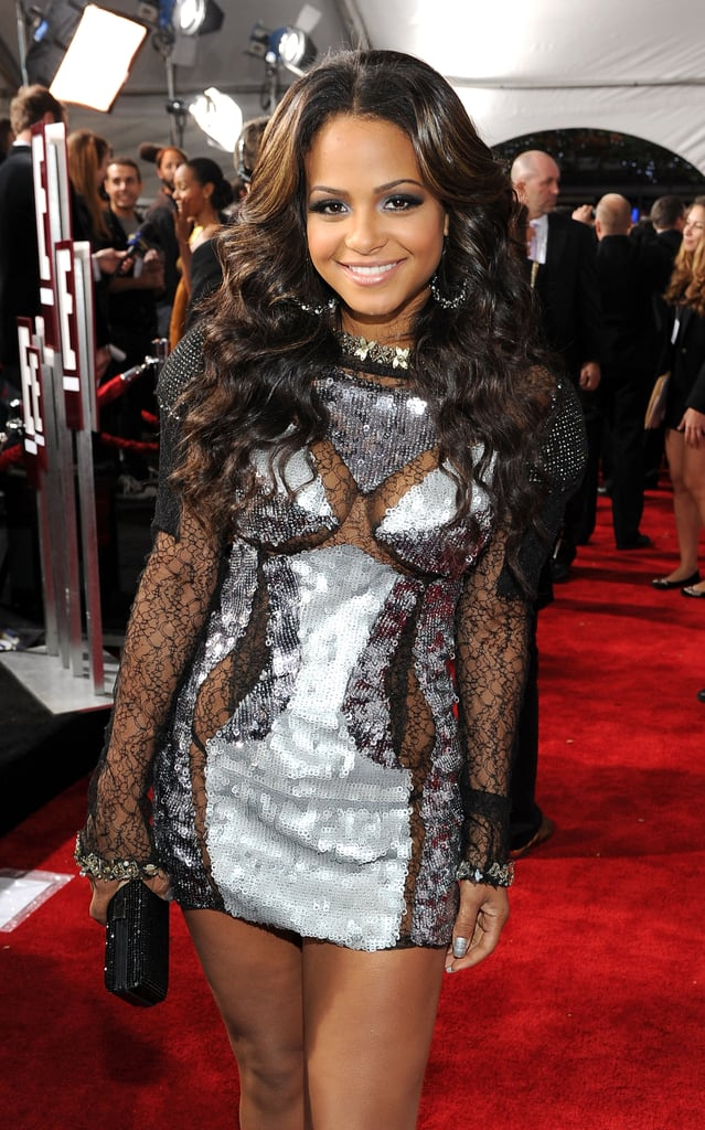 2010 American Music Awards Ladies Red Carpet