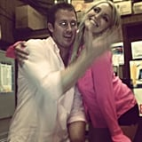 Jamie Lynn Spears acted silly with a friend.  Source: Instagram user jl777