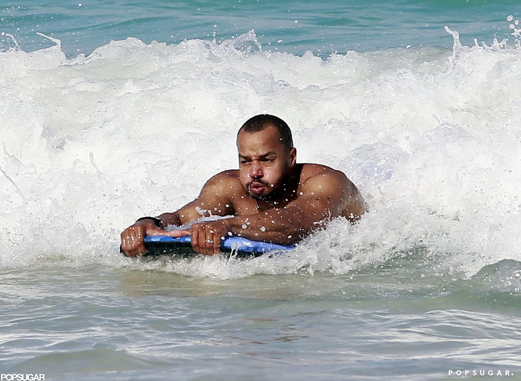 Donald Faison caught a wave.