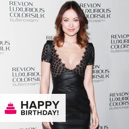 Olivia Wilde's Birthday: Her Best & Sexiest Black Dresses