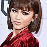 Zendaya Wears Stunning Bronze Makeup at the iHeartRadio Music Awards