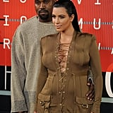 The couple made a statement at the MTV VMAs in LA in August 2015.