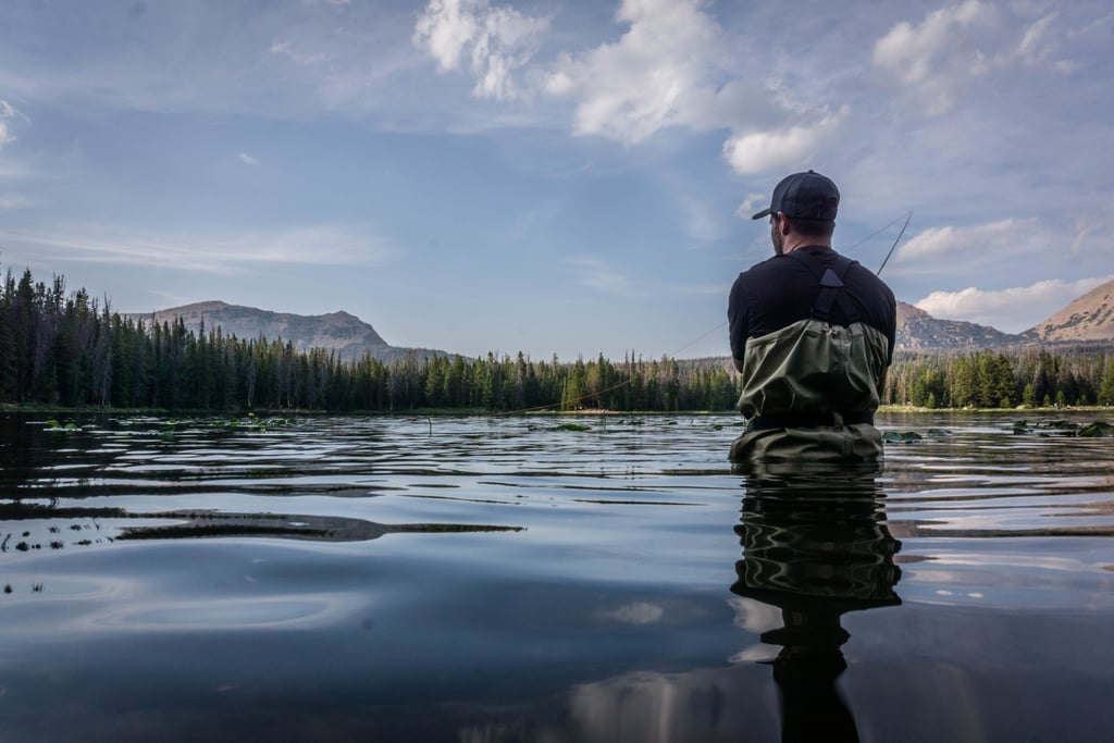 Go fishing at a local lake, pond, or pier.