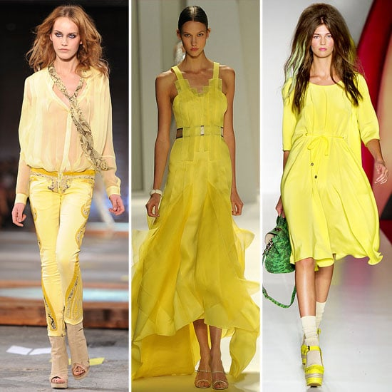 Spring 2012 Colour Report: Not-So-Mellow Yellows