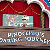 It has Pinocchio's Daring Journey.