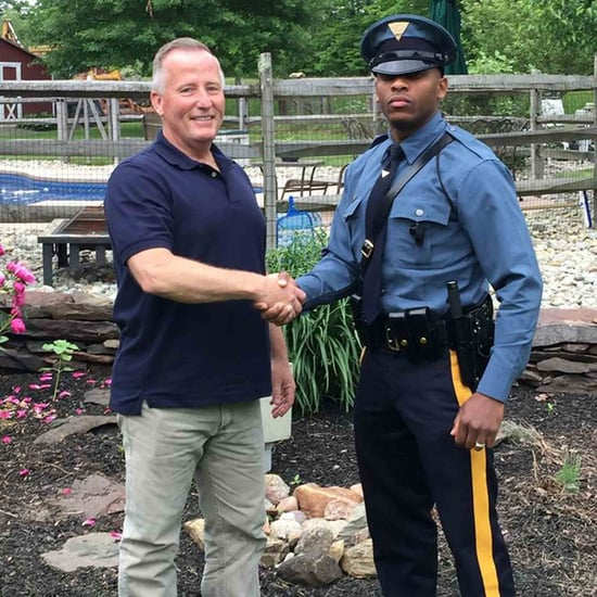 Police Officer Pulls Over Cop Who Delivered Him as a Baby