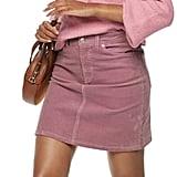 POPSUGAR Corduroy Skirt