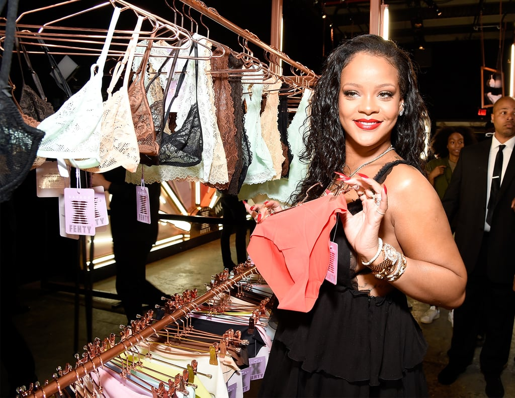 Rihanna at Savage x Fenty Lingerie Launch Event in NYC 2018