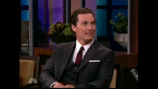 Video of Matthew McConaughey Discussing Family