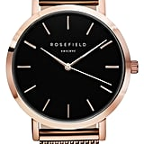 Rosefield Tribeca Mesh Strap Watch