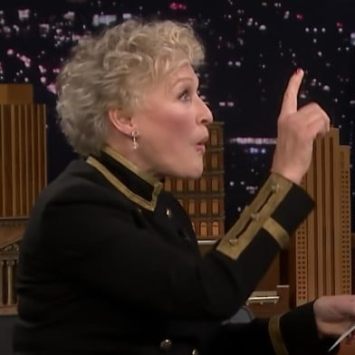 Glenn Close 5 Second Movie Summaries on Tonight Show Video