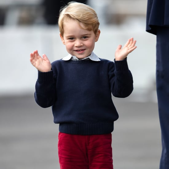 Pictures of Prince George Wearing Shorts