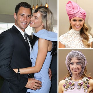 Pictures of Celebrities at the 2012 Melbourne Cup