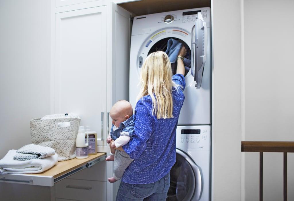Прання та хімчистка – в списку top-робіт по дому