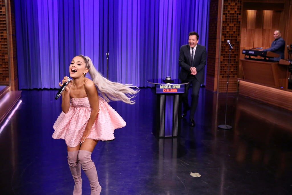 Ariana Grande Singing on The Tonight Show Videos