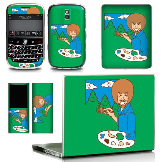 Bob Ross iPad, Laptop, BlackBerry, and iPhone Skins